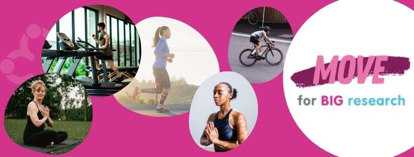 Run, walk, dance do yogaand help raise funds for breast cancer research